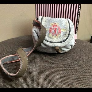 Juicy Couture vintage crossbody velour mini